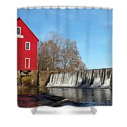 Starr's Mill In Senioa Georgia Shower Curtain