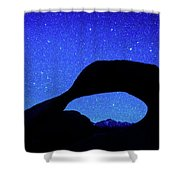 Starry Arch At Mobius Arch, Alabama Shower Curtain