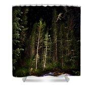 Starry Creek Shower Curtain
