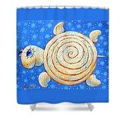 Starry Journey Shower Curtain