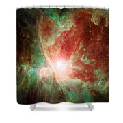 Stars And Orion's Sword 2 Shower Curtain