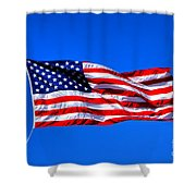 Stars And Stripes Forever Shower Curtain