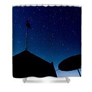 Stars Shower Curtain by Stelios Kleanthous