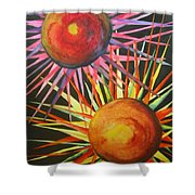 Stars With Colors Shower Curtain