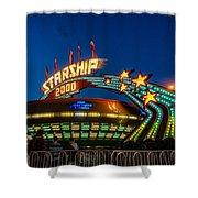 Starship 2000 Shower Curtain