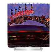 Starship Shower Curtain