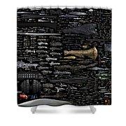 Starships... Shower Curtain