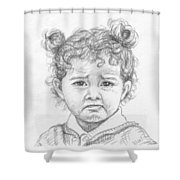 Start Crying Shower Curtain