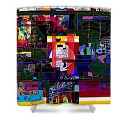 Start With Alef 7e  Shower Curtain
