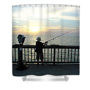 Starting Young Shower Curtain