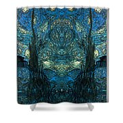 Stary Flipped Shower Curtain