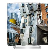 Stata Building 1 Shower Curtain