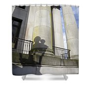 State Building Washington  Shower Curtain