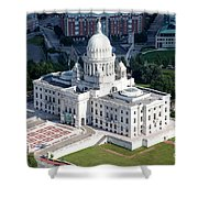State Capitol Buildng Providence Rhode Island Shower Curtain