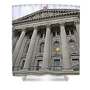 State Capitol Madison Wisconsin Shower Curtain