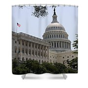 State Capitol Washington Dc Shower Curtain