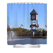 State Fairgrounds Shower Curtain