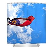 State Flag Of Georgia Shower Curtain