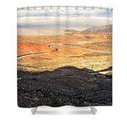 State Highway 190 Shower Curtain