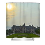 Stately Castle Shower Curtain