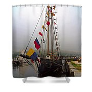 Stately Shower Curtain