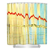 Static 2 Shower Curtain
