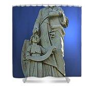 Statue 05 Shower Curtain