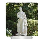 Statue 13 Shower Curtain