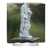 Statue 20 Shower Curtain