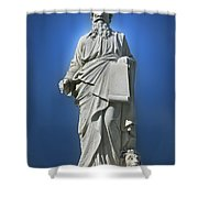 Statue 23 Shower Curtain