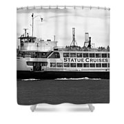 Statue Cruise Shower Curtain