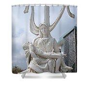 Statue In Kerala Shower Curtain