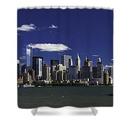 Statue Of Liberty Ferry 2 Shower Curtain