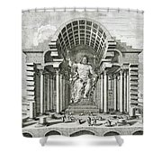 Statue Of Olympian Zeus Shower Curtain