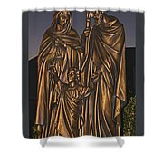 Statue Of The Holy Family  Shower Curtain