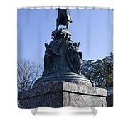 Statue Of Thomas Jefferson Shower Curtain