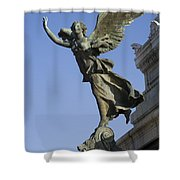 Statue On The Tomb Of The Unknown Soldier Shower Curtain