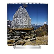 Statue The Dom Shower Curtain