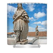 Statues Of Prophets Shower Curtain