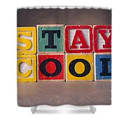 Stay Cool Shower Curtain