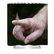 Stay In Touch Shower Curtain