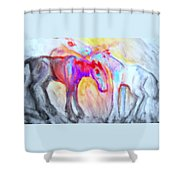 We Will Be Staying Alive Forever And Never Split Up Or Die  Shower Curtain