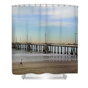 Staying The Course Shower Curtain