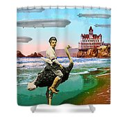 Stealth Squadron Shower Curtain