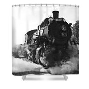 Steam And Iron Shower Curtain
