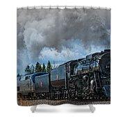 Steam Engine 261 Shower Curtain