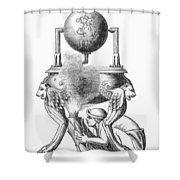 Steam Engine, C100 A.d Shower Curtain