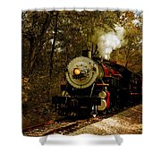 Steam Engine No. 300 Shower Curtain by Robert Frederick