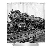 Steam Locomotive Crescent Limited C. 1927 Shower Curtain by Daniel Hagerman