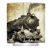 Steam Locomotive No. 334 Shower Curtain